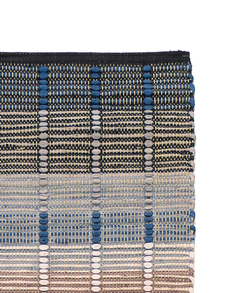 Finarte Origami grey rag rug detail