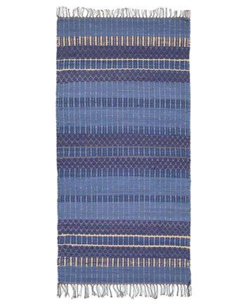 Finarte Birgitta rag rug in blue