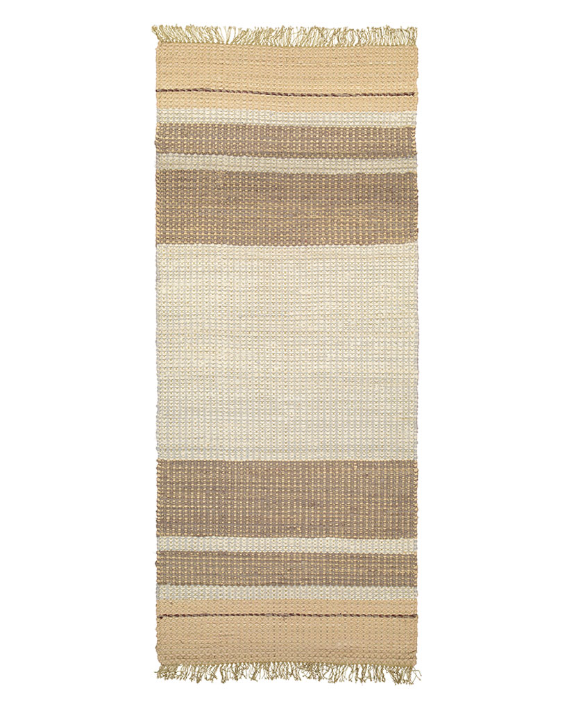 Finarte Gamla Stan cotton rug in beige