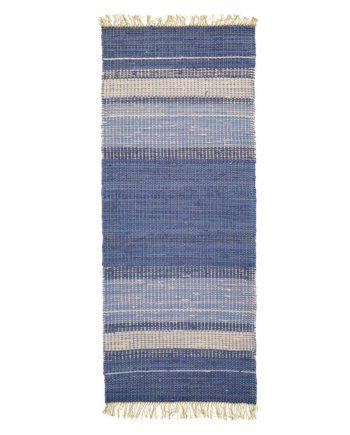 Finarte Gamla Stan cotton rug in blue