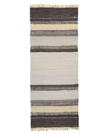 Finarte Gamla Stan cotton rug in grey