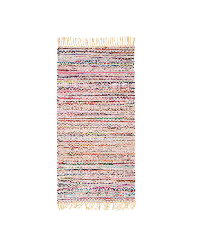 Finarte Kuhmo multicoloured rag rug