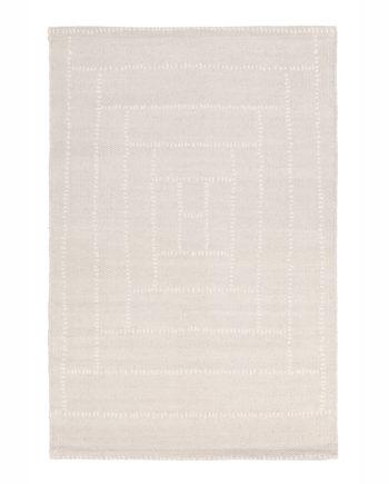 Finarte Piilopirtti cotton rug lightgrey