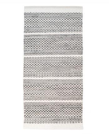 Finarte Usva grey cotton rug