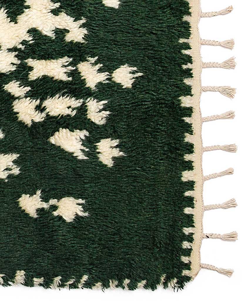 Finarte Suovilla wool rug in green