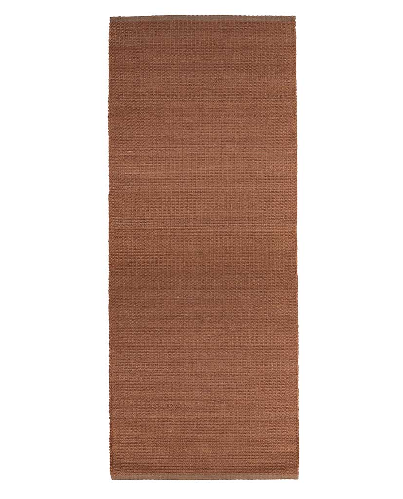 Finarte Aurora chenille rug in brown