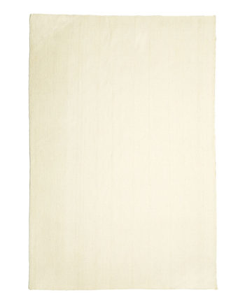 Finarte Norm wool rug in white