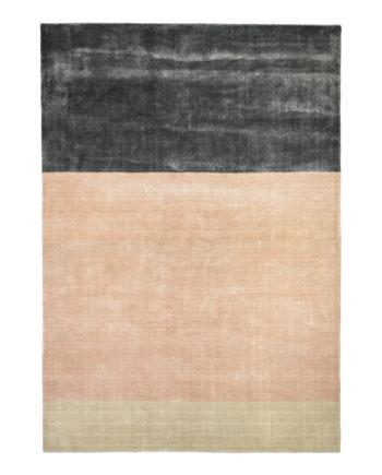 Finarte Suraya viscose carpet in rose