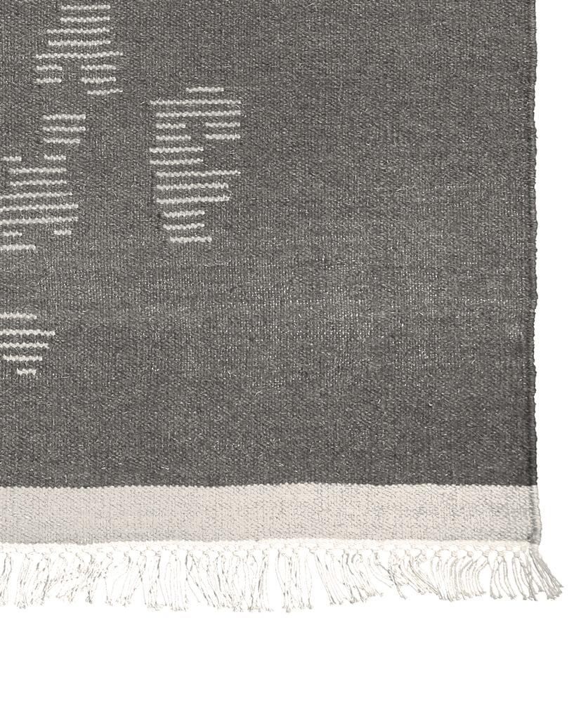 Finarte Saaristo wool rug in grey