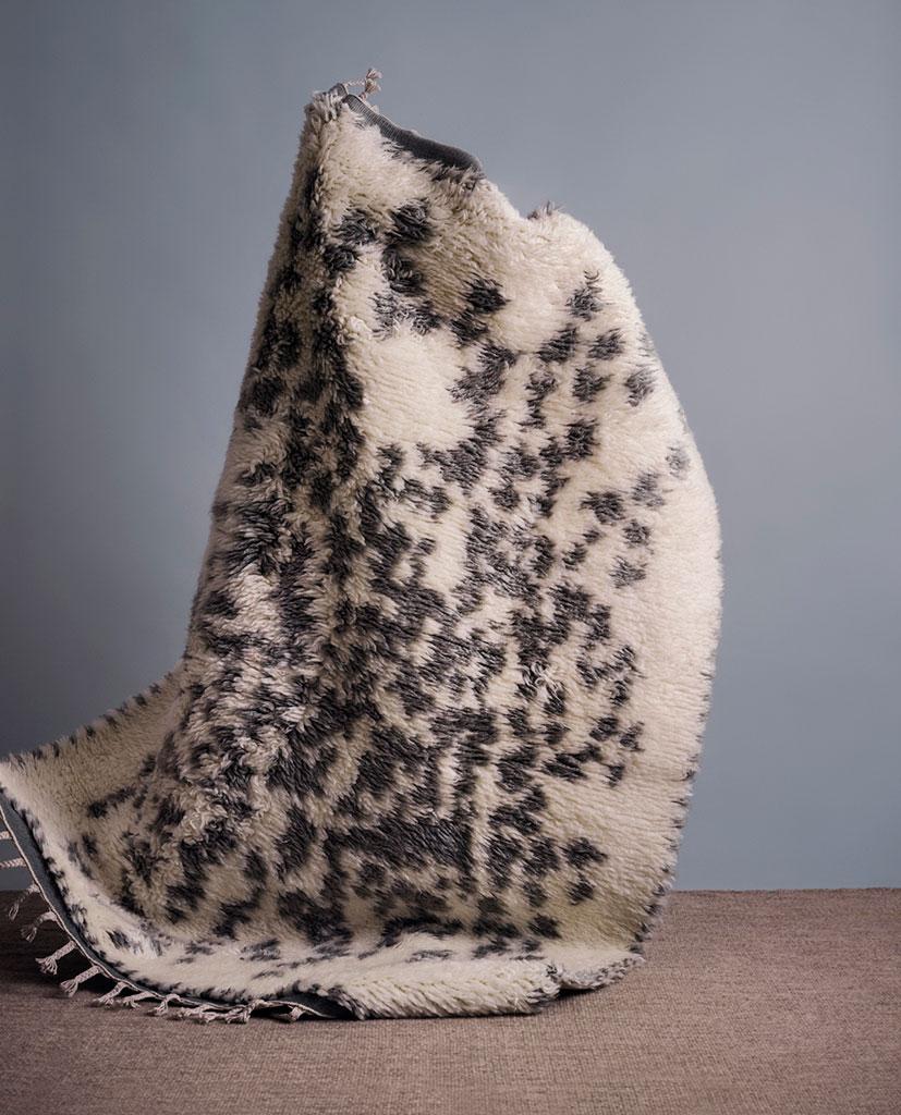 Finarte Suovilla wool rug in grey